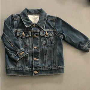 Old Navy Snap button denim jacket 18- 24 months